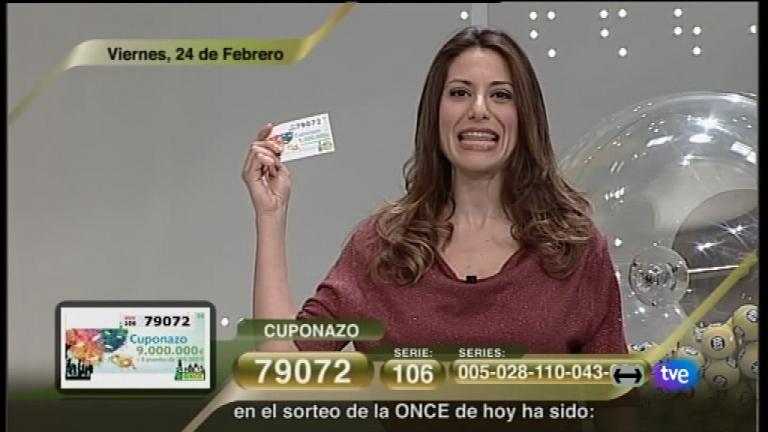 Sorteo ONCE - 24/02/12