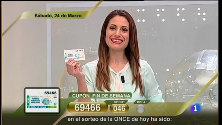 Sorteo ONCE - 24/03/12
