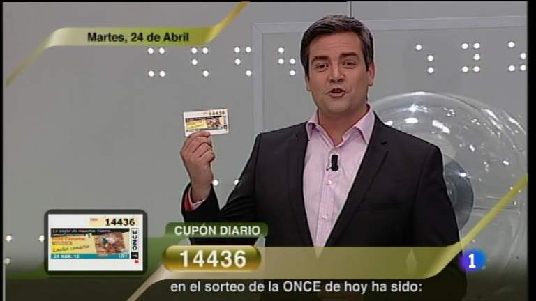 Sorteo ONCE - 24/04/12