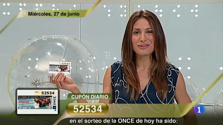 Sorteo ONCE - 27/06/12