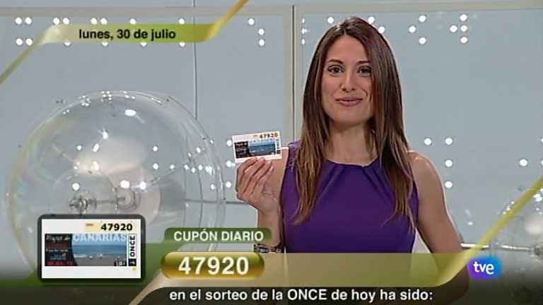 Sorteo ONCE - 30/07/12