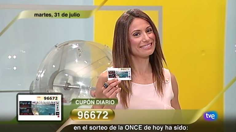 Sorteo ONCE - 31/07/12
