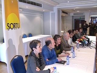 Ver v?deo  'Sortu es el nombre del nuevo partido de la izquierda abertzale'