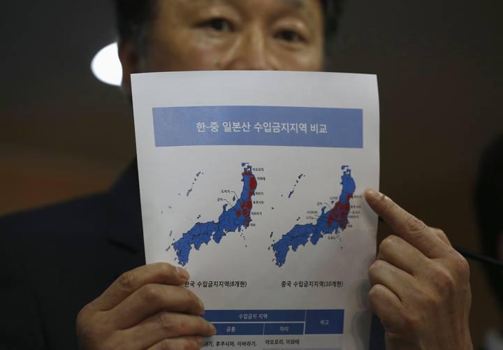Corea del Sur veta la importación de productos pesqueros japoneses por