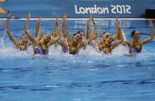 Las españolas han hecho un ejercicio técnico de gran potencia y coordinación.