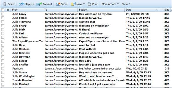 Los correos 'spam' inundan las bandejas de entrada de las cuentas de millones de usuarios cada día
