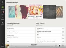 La nueva aplicación de Spotify para iPad