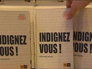 """Ver vídeo  'Stéphane Hessel, autor del libro """"Indignaos"""", rechaza cualquier acto de violencia'"""