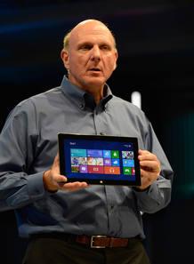 Steve Ballmer presenta la nueva tableta de Microsof, 'Surface'