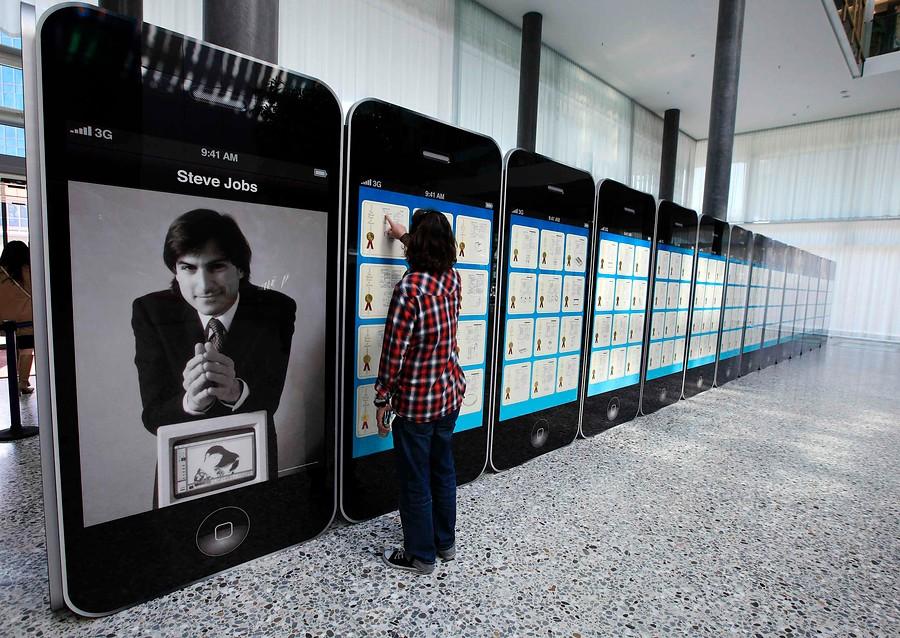 Steve Jobs y sus patentes, protagonistas de una exposición