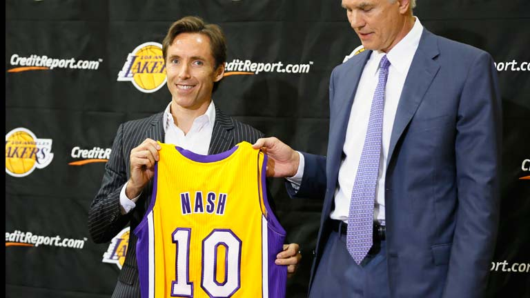 Steve Nash lucir&aacute; el 10 debido a su admiraci&oacute;n por Messi