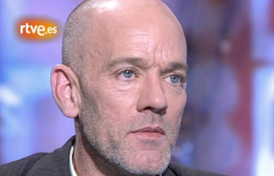 Entrevista a Michael Stipe, l&iacute;der de la banda REM, en 'La2 Noticias' (octubre 2007)