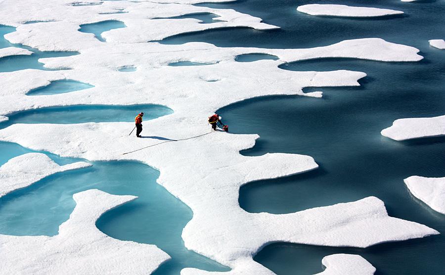 <strong>El duro trabajo en el Ártico</strong>