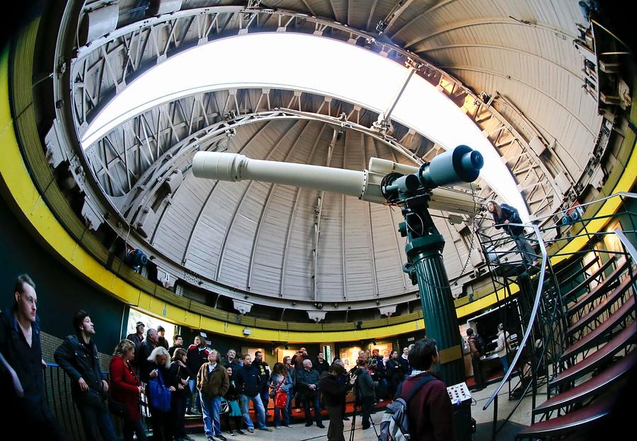 <strong>El tránsito de Venus desde el observatorio </strong>