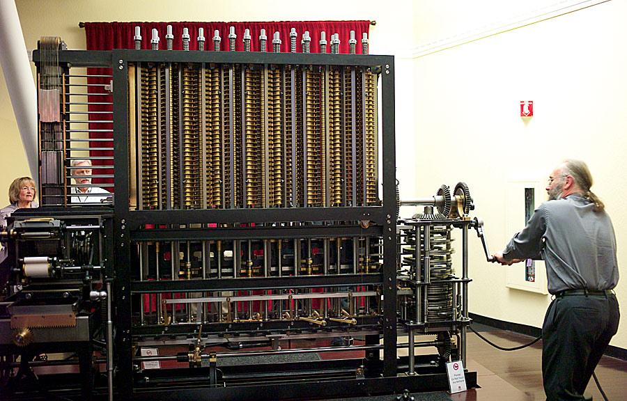 <strong>La máquina diferencial: la computadora a manivela </strong>