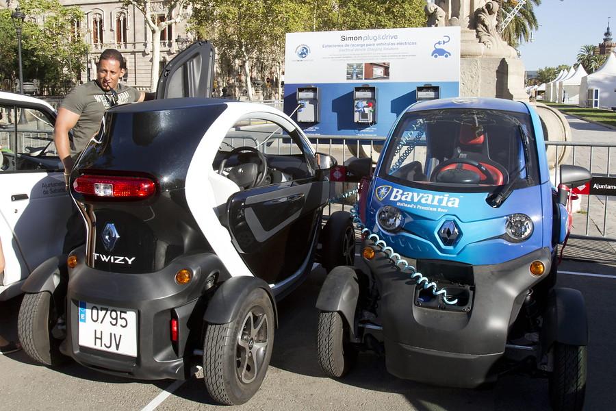 <strong>Vehículos eléctricos en Barcelona</strong>