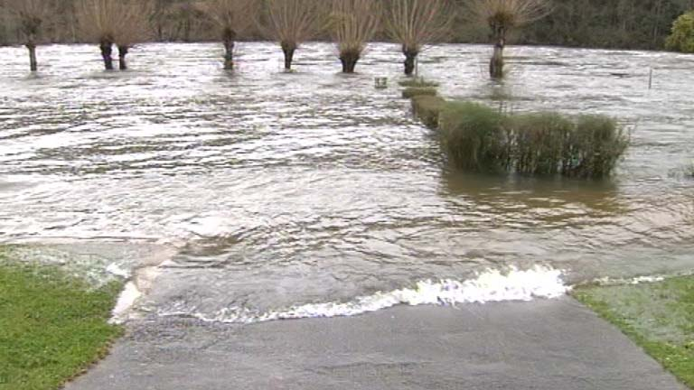El caudal de los ríos gallegos es un 60 por ciento más alto de lo habitual