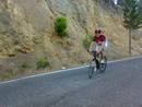 Foto en la Cresta del Gallo, después de realizar la subida en la marcha cicloturista.