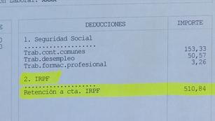 Ver vídeo  'La subida del IRPF nos costará al año unos 290 euros'