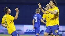 Suecia, todos para 'Ibra' y Zlatan para todos