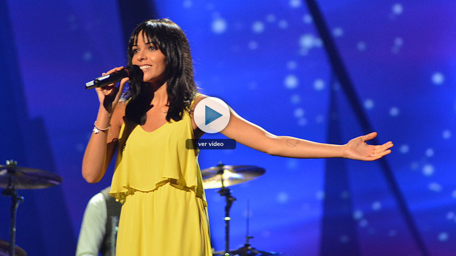 El sueño de Morfeo realiza su primer ensayo en el escenario de Eurovisión