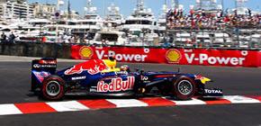 La suerte se alía con Vettel en su victoria en Montecarlo