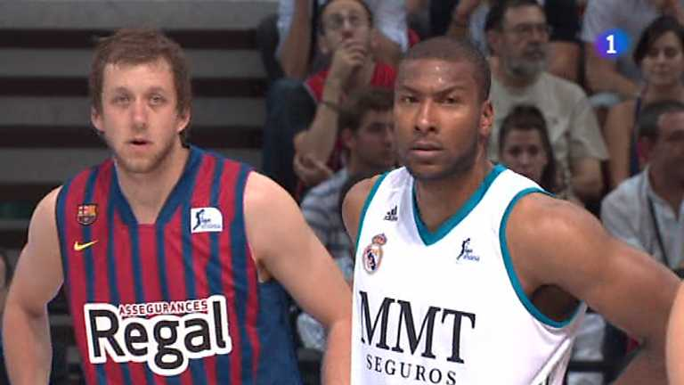 Baloncesto - Supercopa de España - Final: Barcelona Regal-Real Madrid