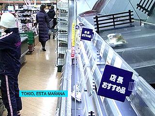 Ver v?deo  'Supermercados vacíos en Tokio tras el tsunami'