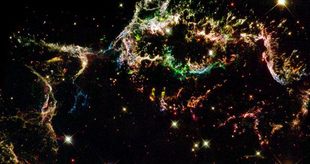 Supernova captada por el Hubble