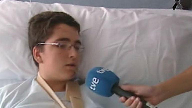 """La mañana de la 1 - Superviviente del accidente: """"Tengo rota toda la parte izquierda del cuerpo"""""""