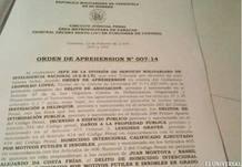 La supuesta orden de aprehensión según el diario El Universal