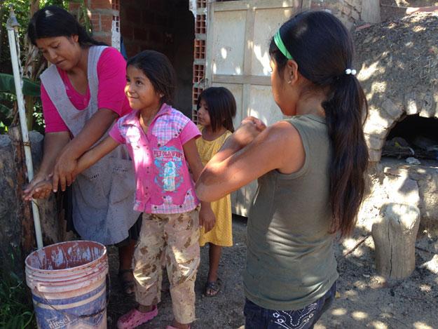 En Surima más de 330 familias cuentan con agua potable y las enfermedades se han reducido