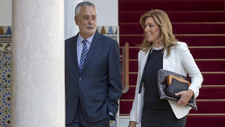 """Susana Díaz: """"Me avergüenza la corrupción y me propongo combatirla"""""""