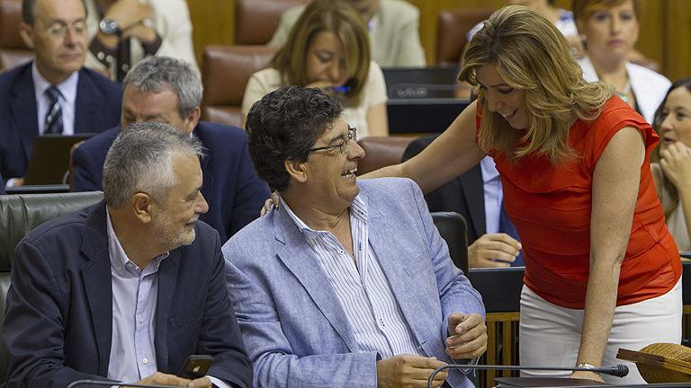 Susana Díaz, única candidata con avales suficientes para liderar el PSOE andaluz