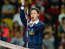 Susana Rodríguez, colegiada en voleibol.