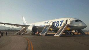 Ver vídeo  'Suspendidas las operaciones de los Boeing 787 en las aerolíneas japonesas ANA y JAL'