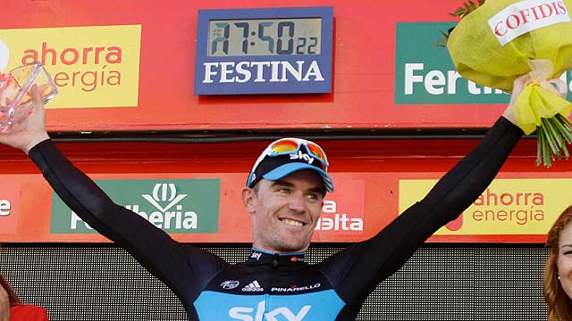 El australiano Sutton, protagonista inesperado en la Vuelta