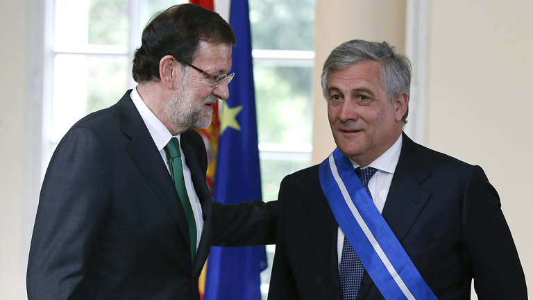 Tajani resalta el esfuerzo de Espa&ntilde;a y aconseja medidas para el empleo