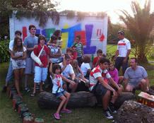Taller de arquitectura organizado por Iniciador Kids en Radón, Cantabria