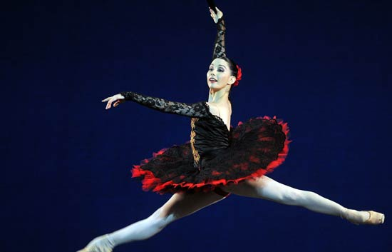Tamara Rojo, con el Royal Ballet de Londres en La Habana