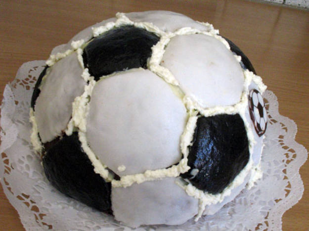 Tarta bal&oacute;n (Rosalva Flores)