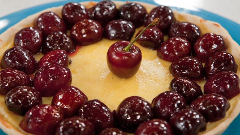 Saber Cocinar - Postres - Tarta de cerezas