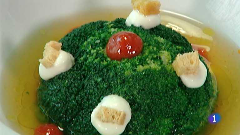 Somos #dietamediterránea - Tartar de atún y brócoli