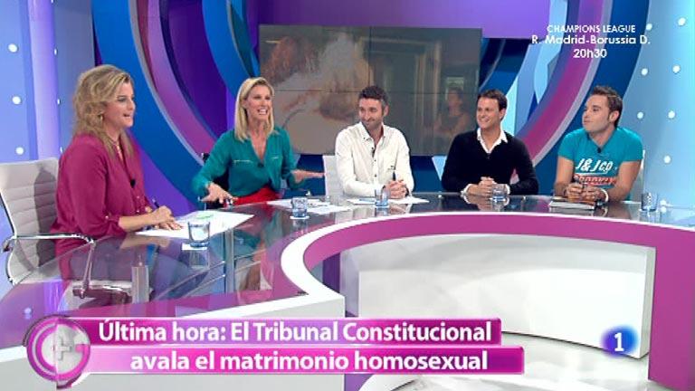 Más Gente - El Tribunal Constitucional avala el matrimonio homosexual