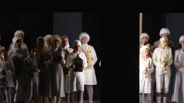 """El teatro real cumple 15 años y estrena mañana la ópera """"Boris Godunov"""""""