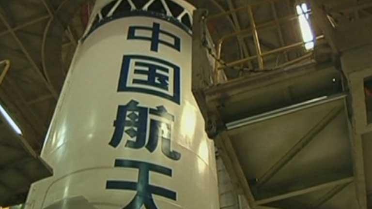 China pone a prueba su tecnología espacial