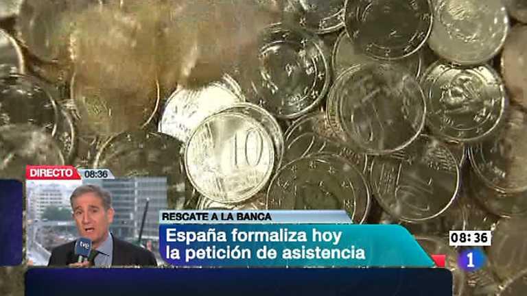 Telediario - 8.30 horas - 25/06/12