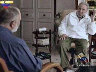 Ver vídeo  'La televisión venezolana difunde imágenes de Fidel Castro'