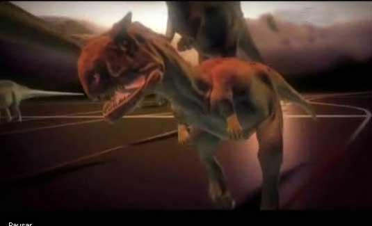 Ver vídeo  'Un temible Tiranosaurio Rex de tan solo tres metros'