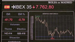 Ver vídeo  'Los temores ante una posible recesión hacen que las bolsas europeas se desplomen'